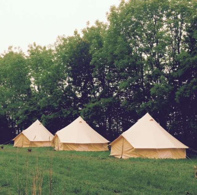 our beautiful bell tents