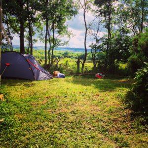 wild camping gateshead